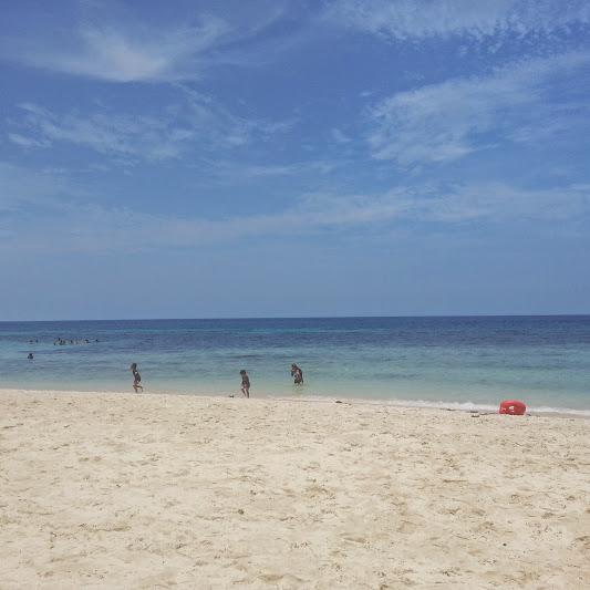 white sand beach near cdo
