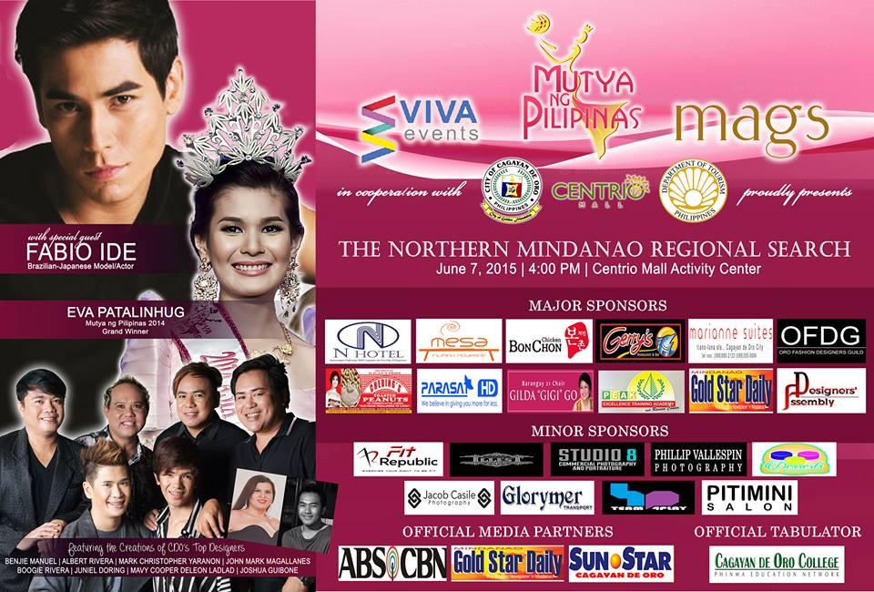 mutya ng pilipinas 2015 northern mindanao