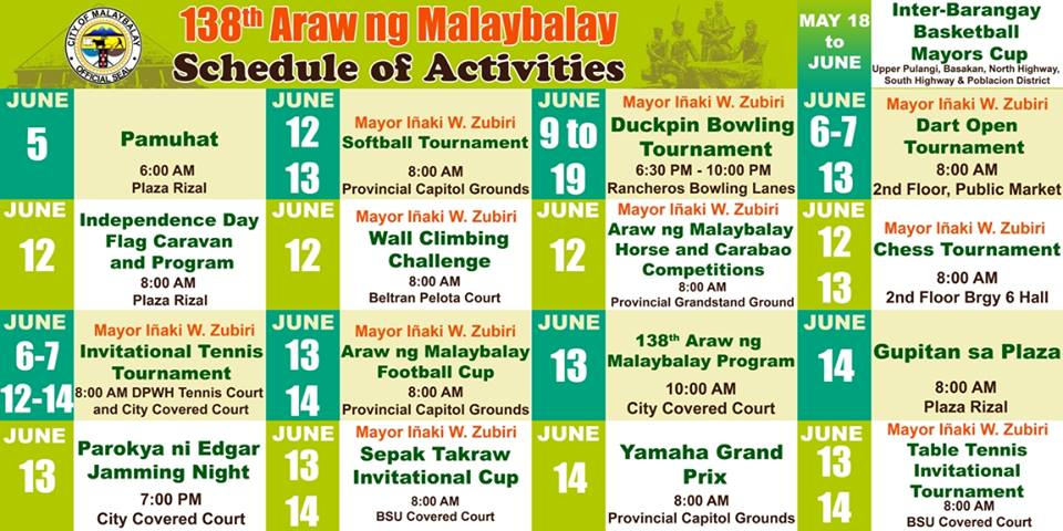 malaybalay bukidnon 2015 foundation day