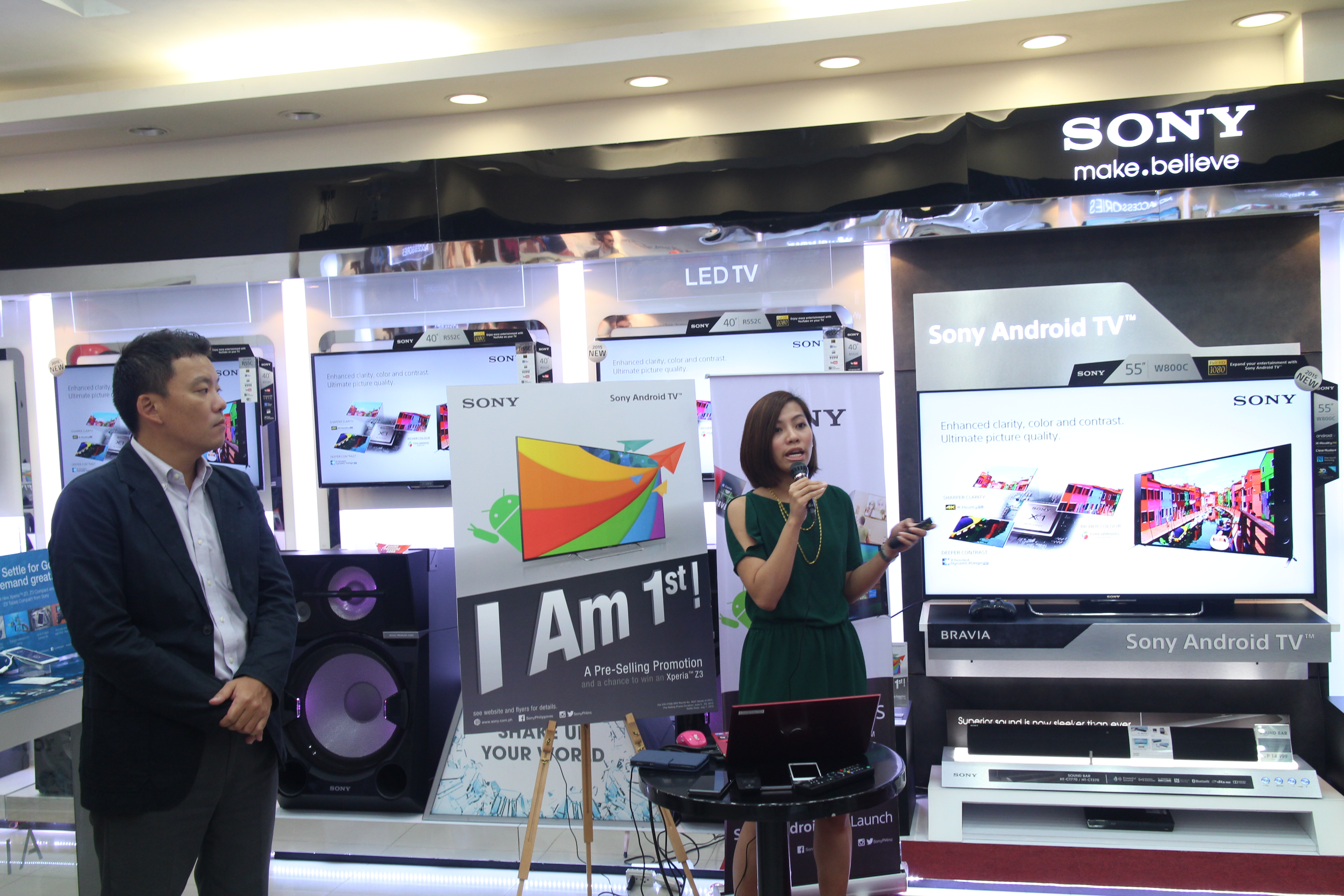 sony bravia cdo launch