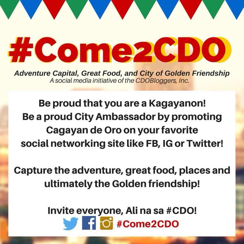 come2cdo social media online campaign cdo bloggers
