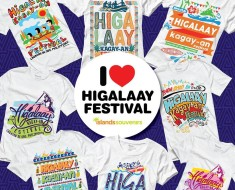 higalaay festival shirts islands souvenirs