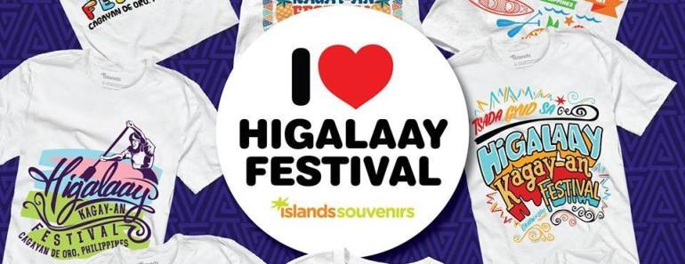 higalaay festival shirts islands souvenirs