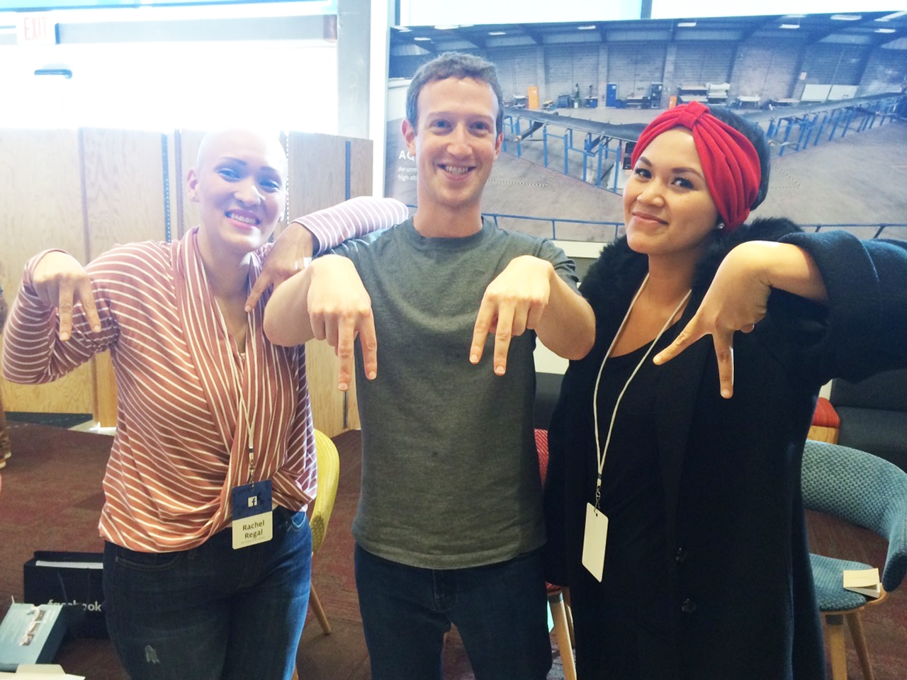 abby asistio mark zuckerberg