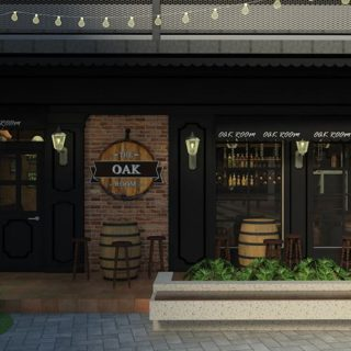 the oak room cdo whiskey bar