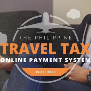 travel tax online payment philippines