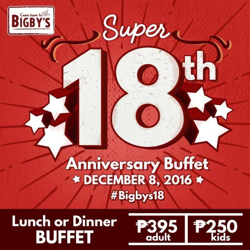 bigbys buffet