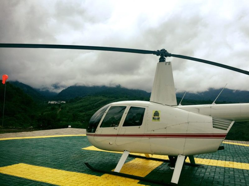 dahilayan helicopter
