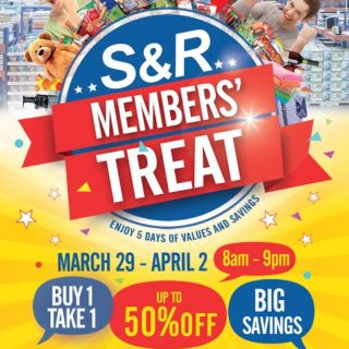 snr buy 1 take 1 march 2017