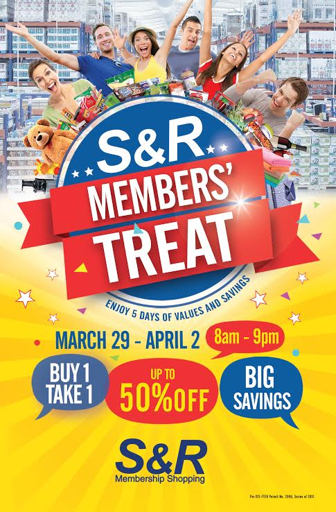 snr buy 1 take 1 march 2017