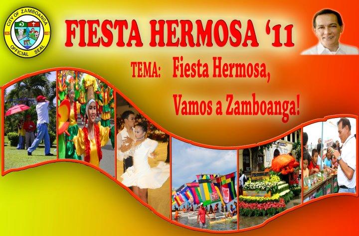 Zamboanga Hermosa Festival 2011 schedule of activities