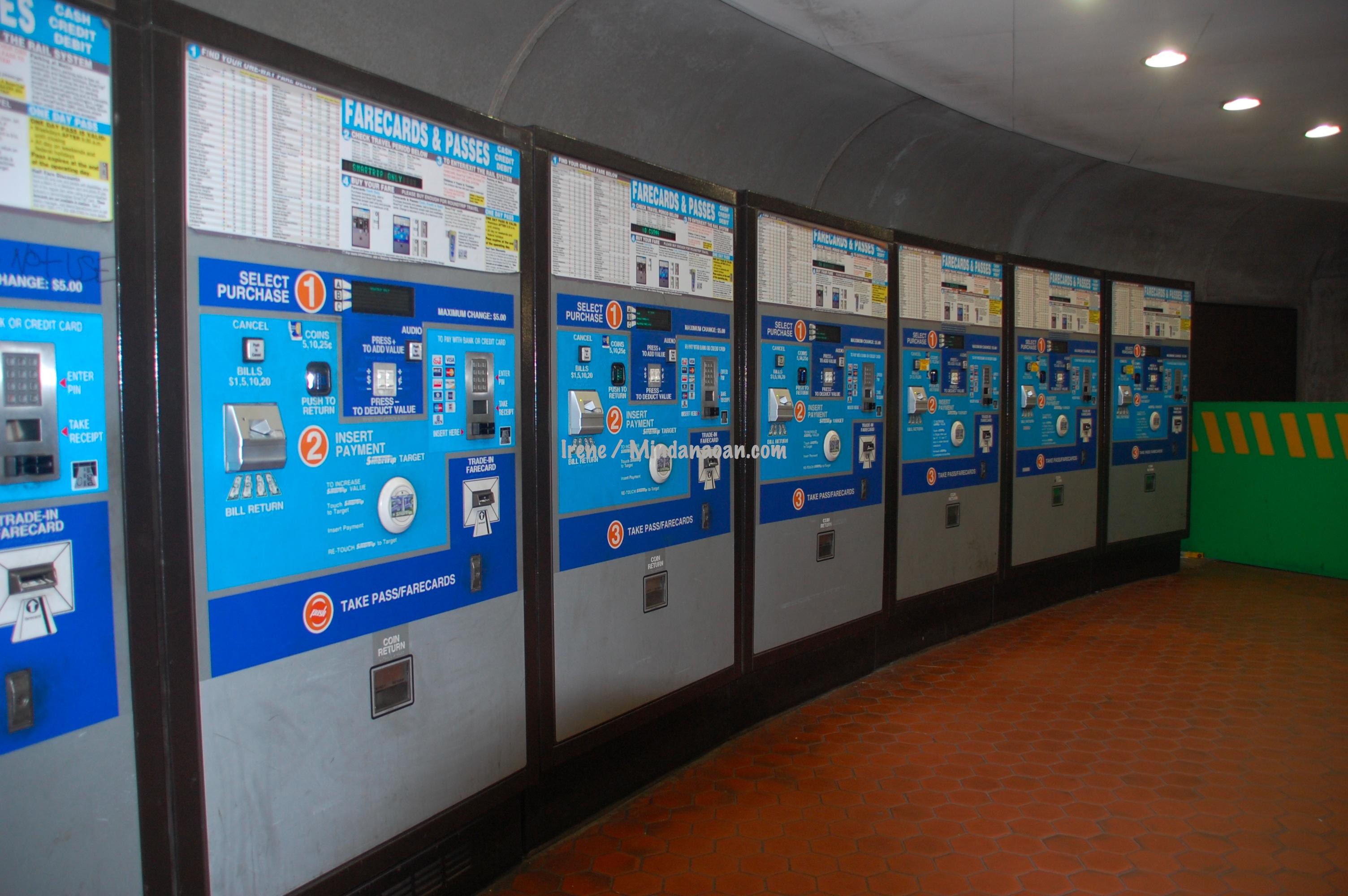 Mindanaoan In America: Washington DC Metro Subway photos, tips