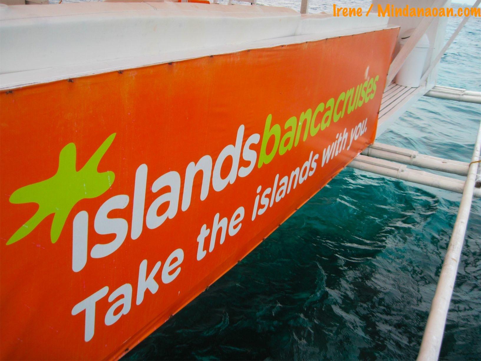 Cebu island hopping with Islands Banca Cruises