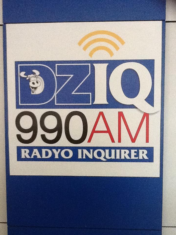 My live radio interview at DZIQ Radyo Inquirer
