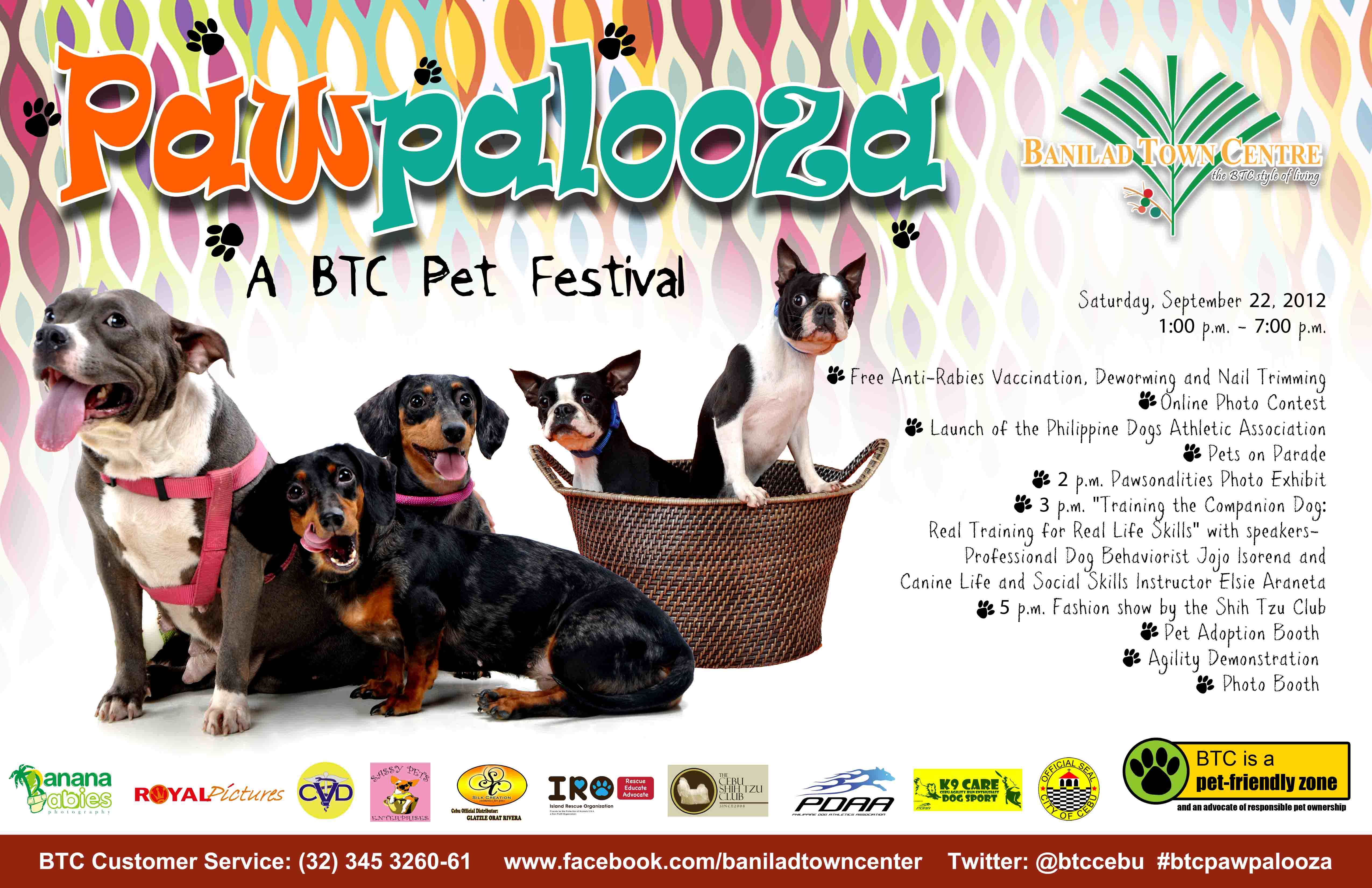 Pawpalooza Pet Festival at BTC Cebu