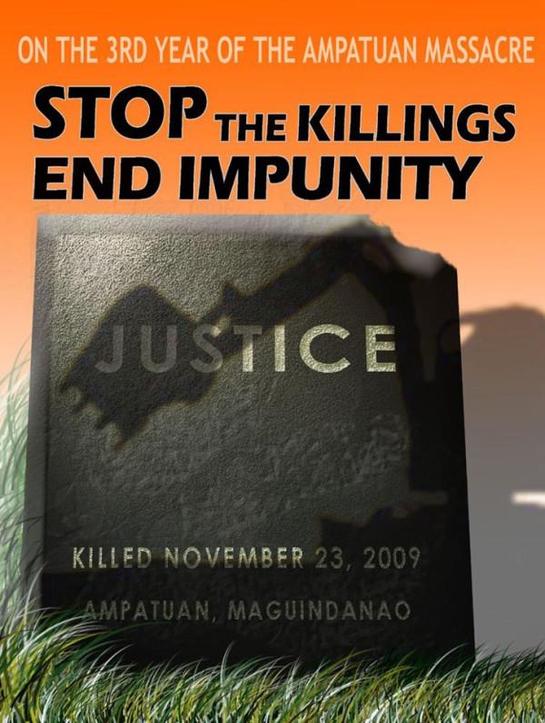 Ampatuan Maguindanao Massacre Third Anniversary