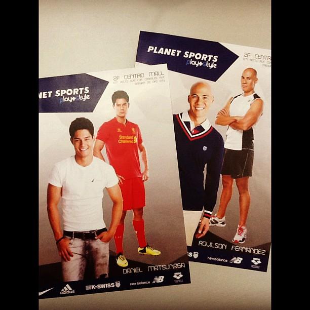 Planet Sports Centrio Mall brings Daniel Matsunaga and Rovilson Fernandez