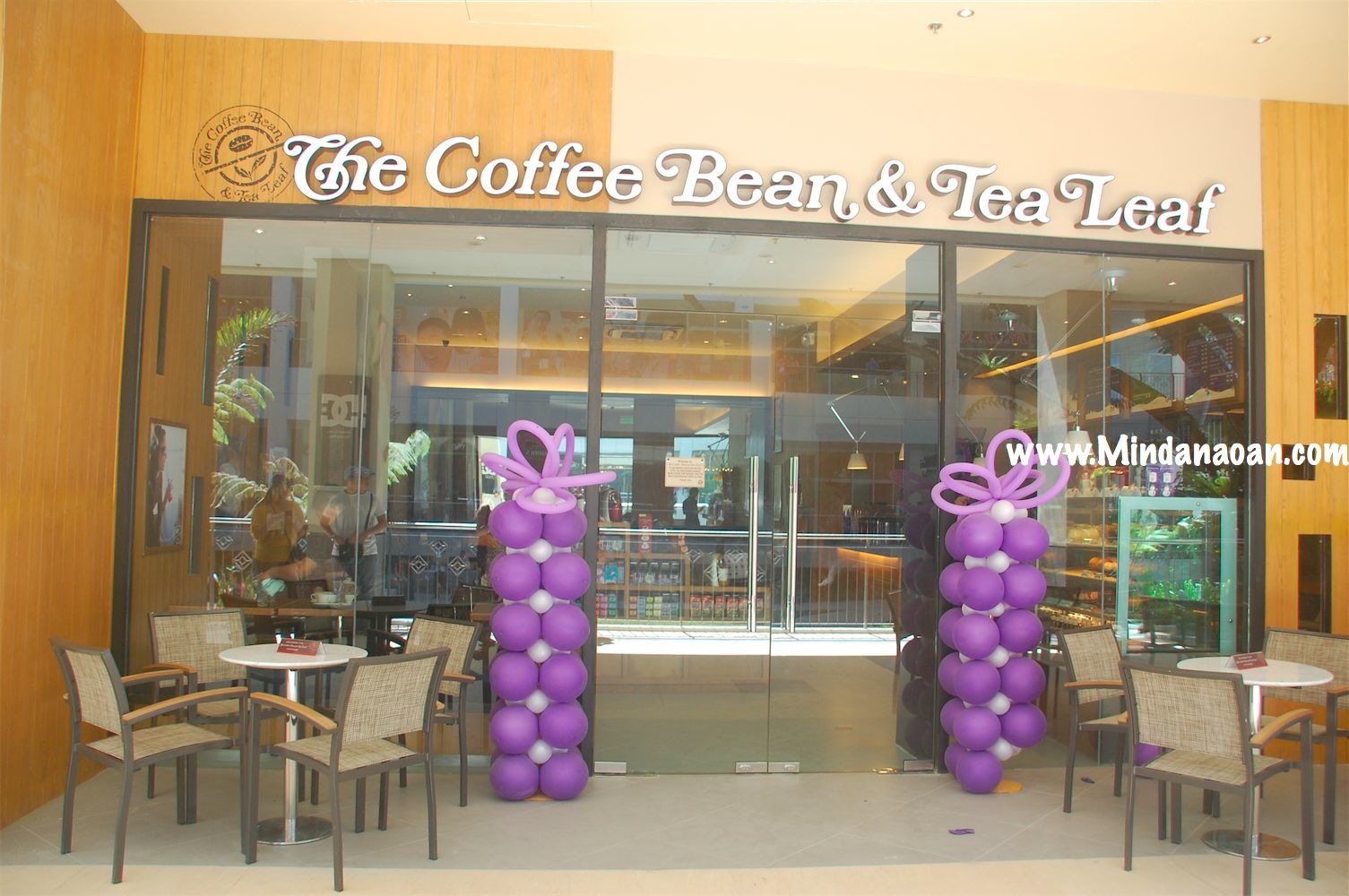 Coffee Bean and Tea Leaf now brewing in Cagayan de Oro City