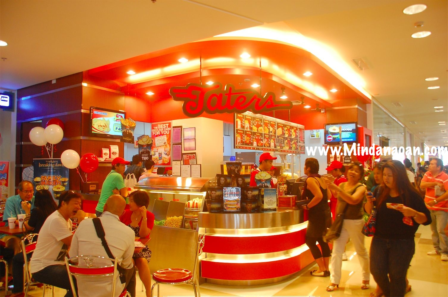 Taters Centrio Mall Delivers Snacks Inside The Cinemas