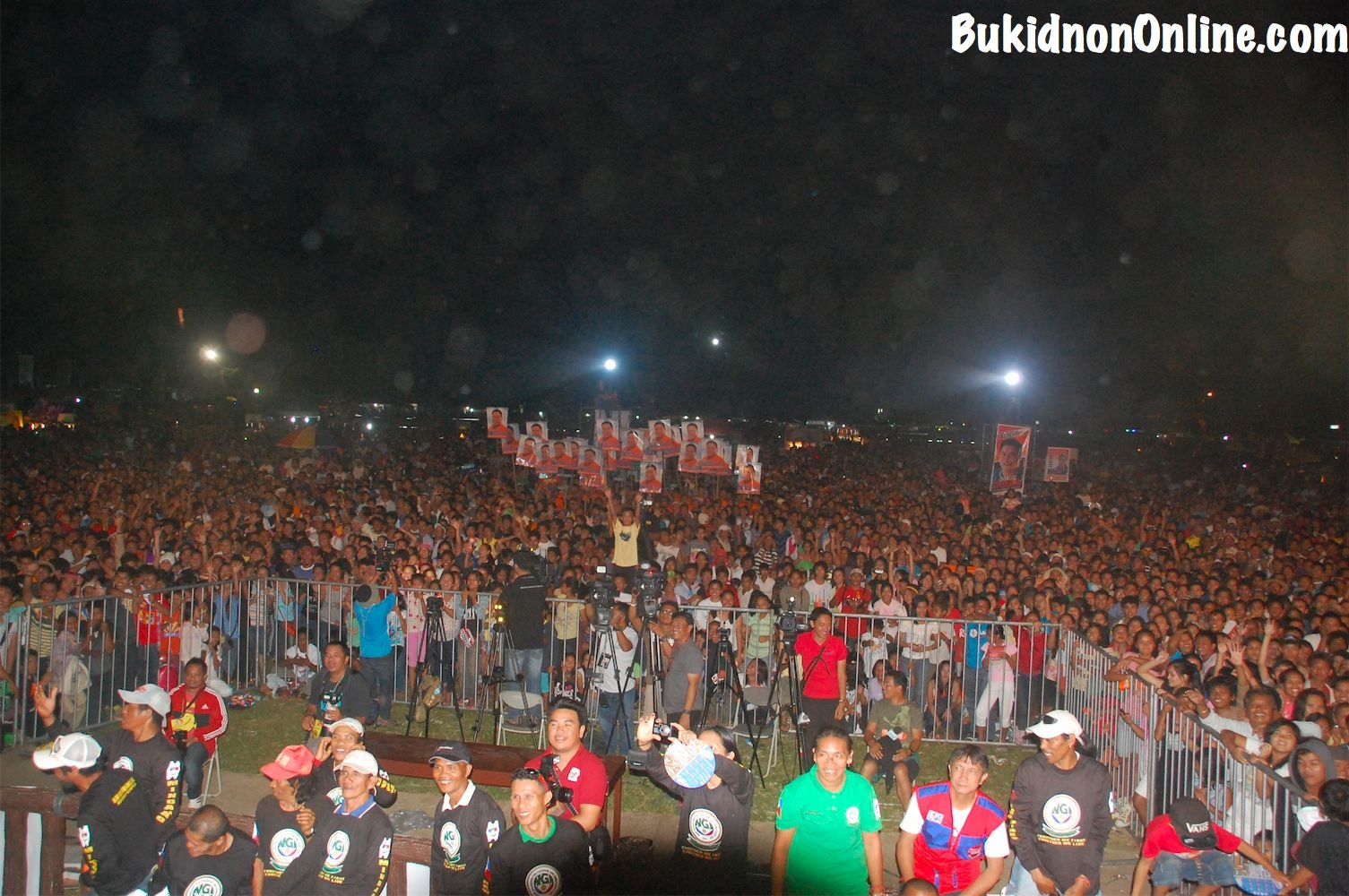 Covering the Team UNA rally in Bukidnon
