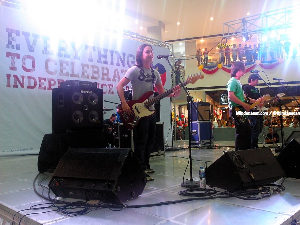 Rivermaya band Davao radio tour and SM City Davao gig