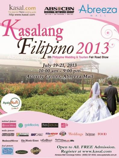 Kasalang Filipino 2013 Davao City leg