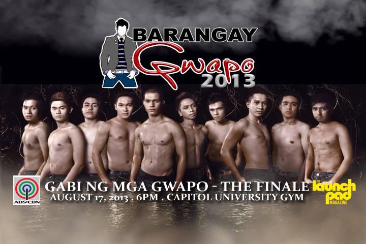 Judging at ABS CBN's Barangay Gwapo 2013