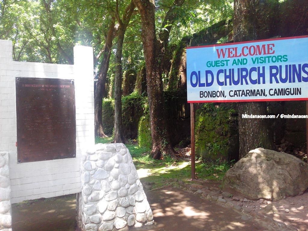 Old Church Ruins in Camiguin Island Mindanao