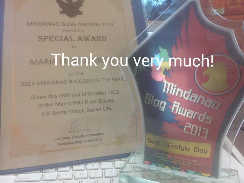 mindanao blogger of the year 2013