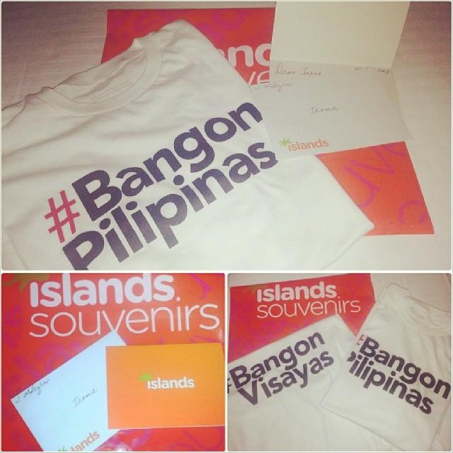 Buy a #BangonPilipinas shirt and help typhoon Haiyan victims