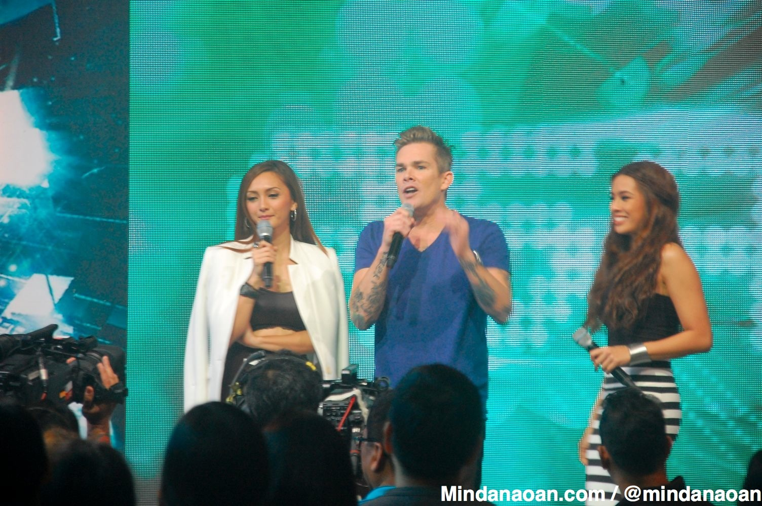 Photos: Mark McGrath of Sugar Ray at ABS CBN ASAP