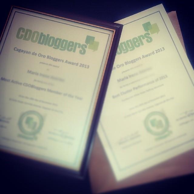 Mindanaoan.com wins at CDO Bloggers Awards 2013