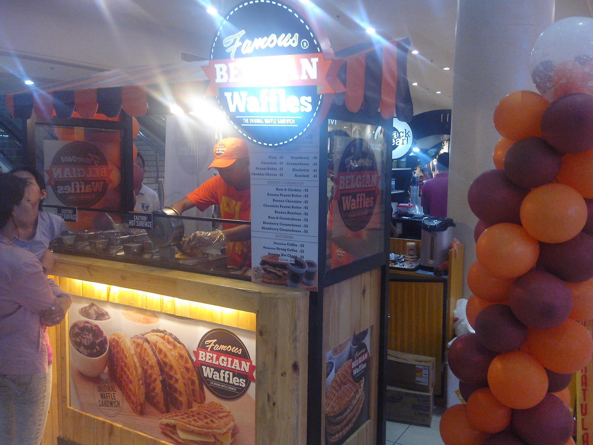 Foodspotting: Famous Belgian Waffles
