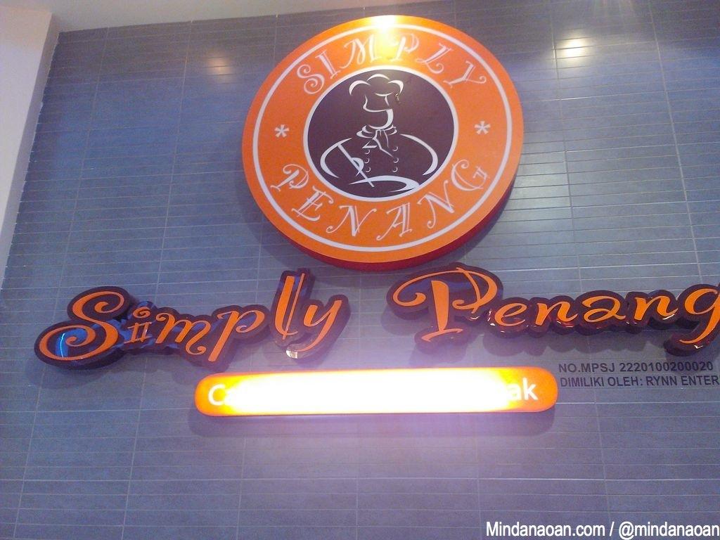 Simply Penang at @Sunway_Pyramid Kuala Lumpur Malaysia
