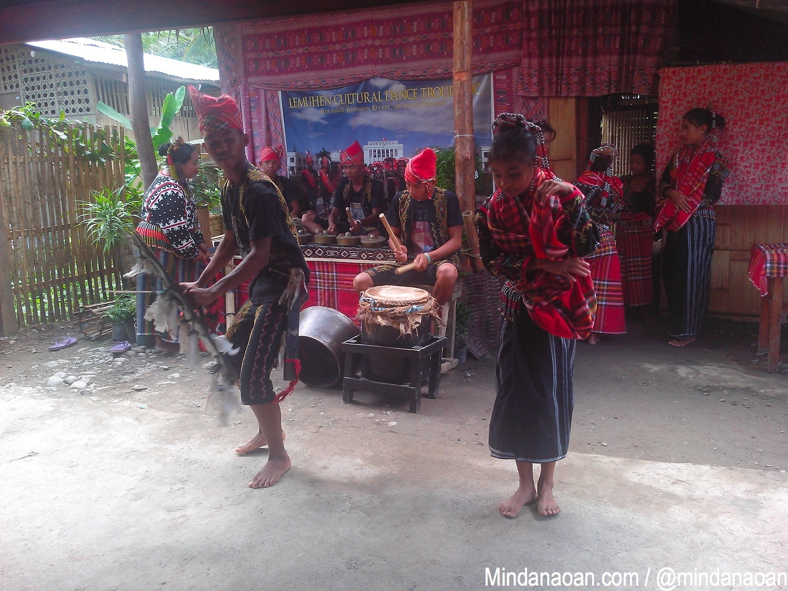Let these T'boli dancers welcome you to Sarangani