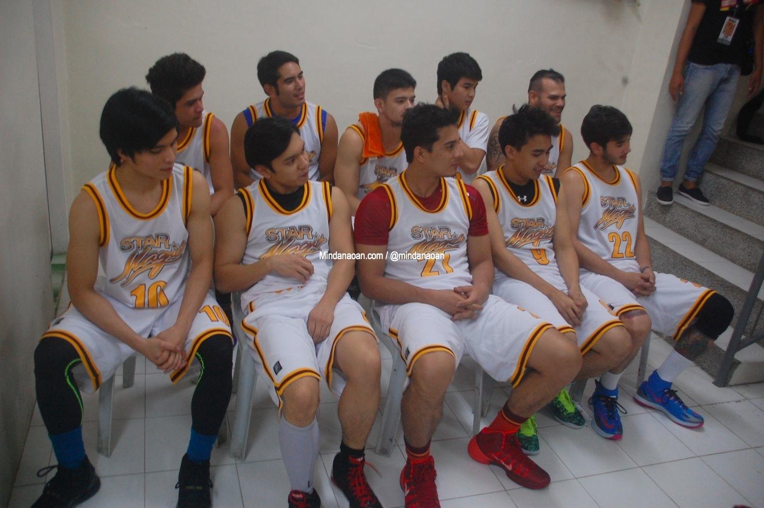 Photos: Gerald Anderson and Star Magic Basketball team in CDO @hashtagprod11