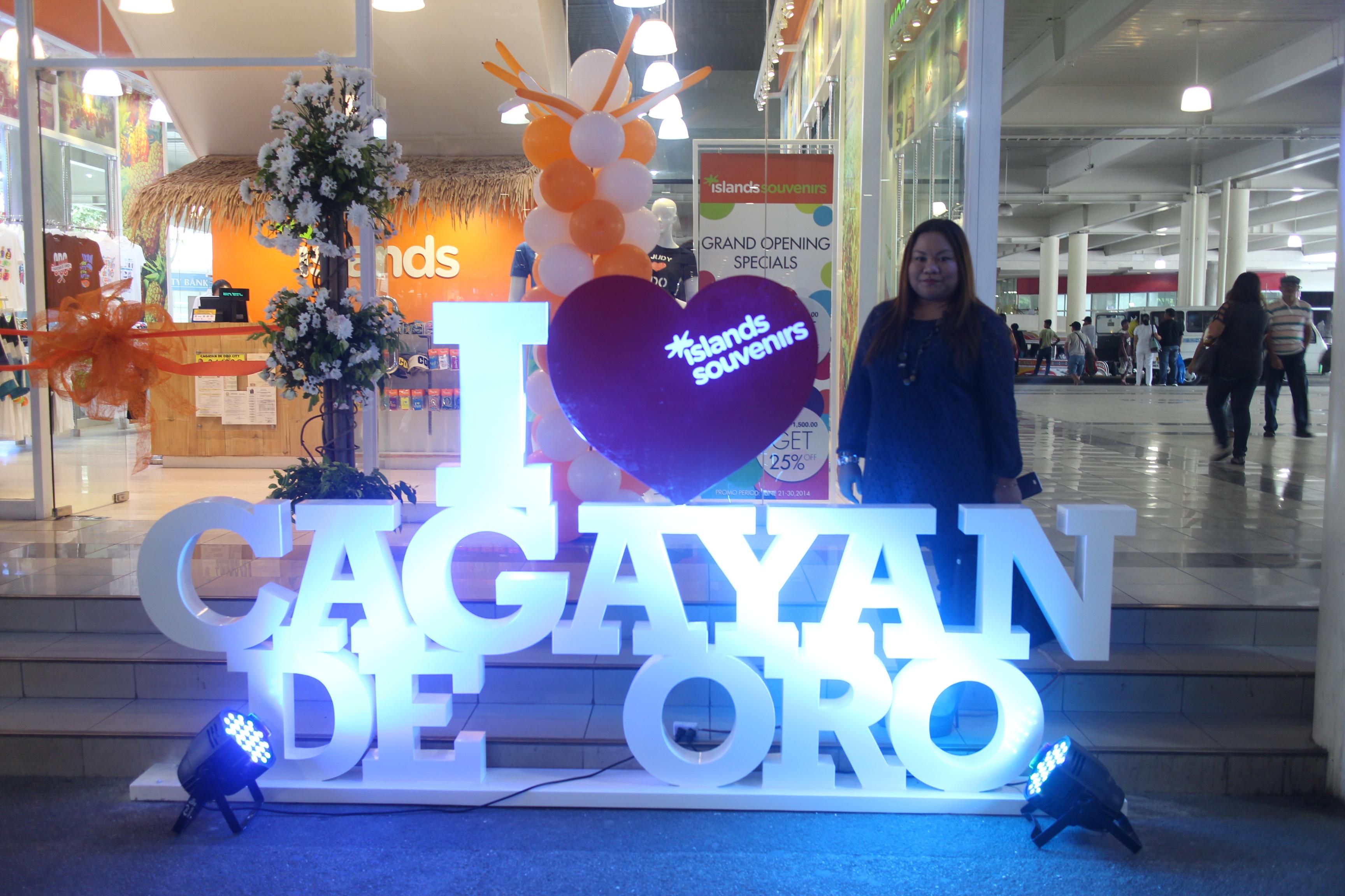 Mindanaoan is an Islands Souvenirs I heart CDO brand ambassador