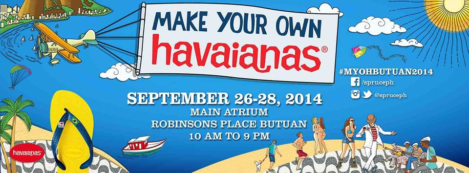 Very first Make Your Own Havaianas event in Butuan