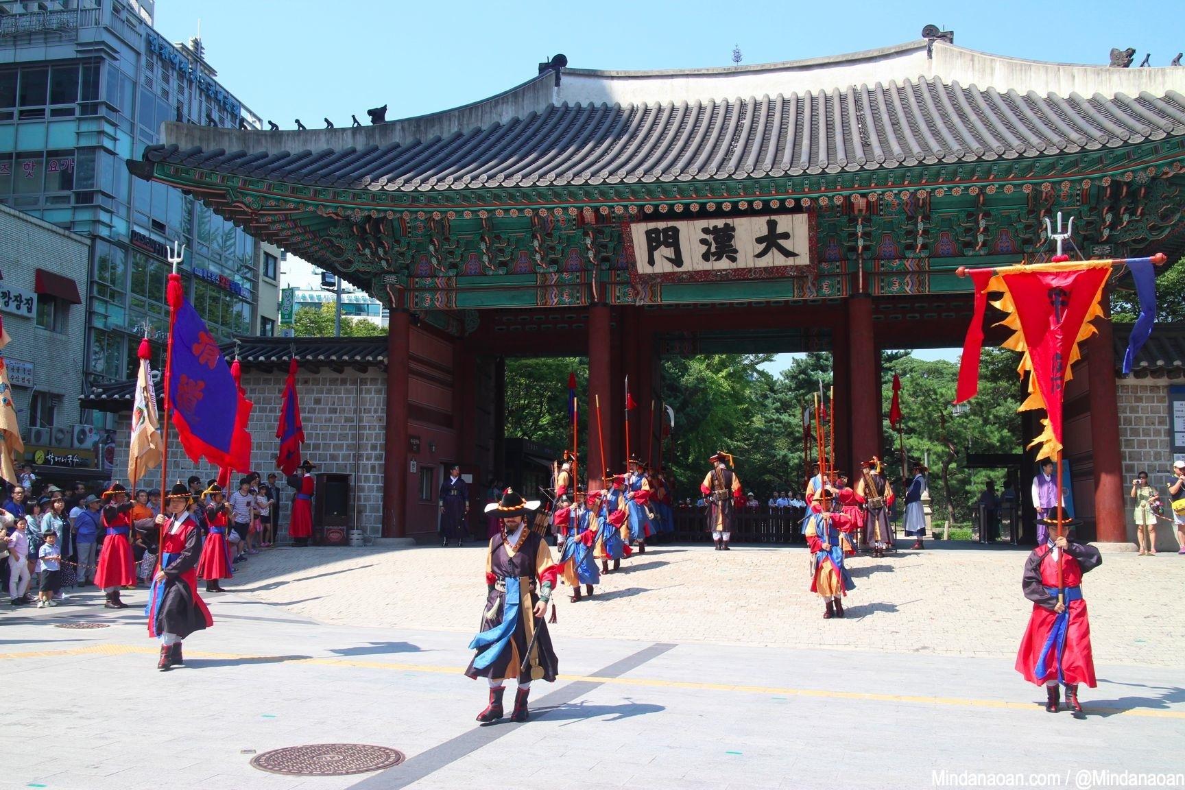 Mindanaoan In Korea travel series: Deoksugung Palace changing of guards