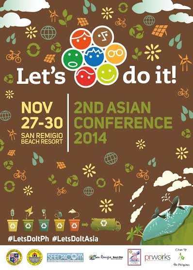 Philippines to host Let's Do It! Regional Conference 2014 for Asia