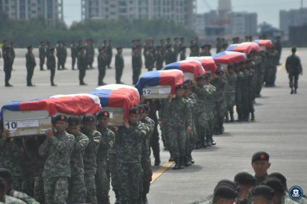 Salute and rest in peace, Tagaligtas #SAF44