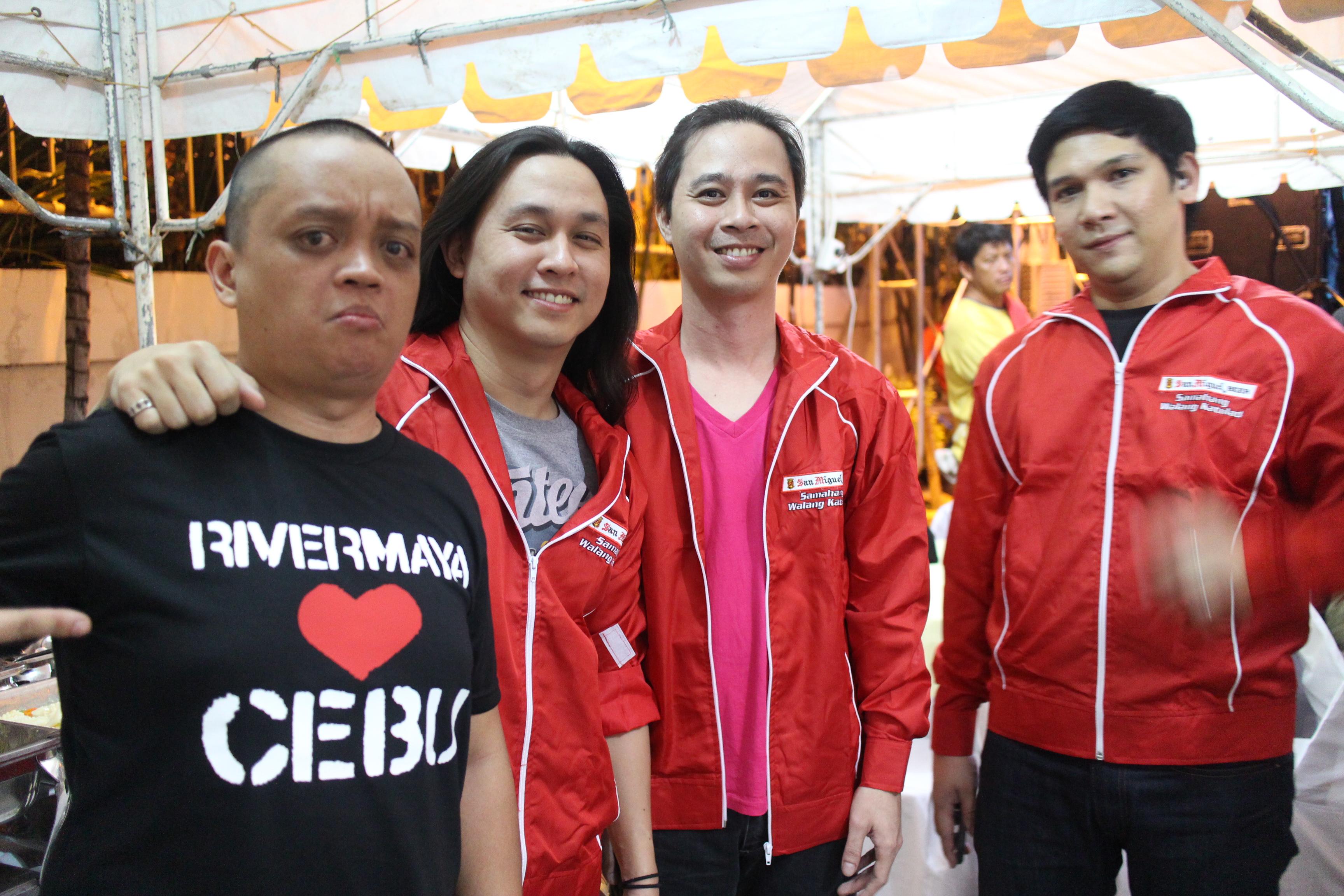 PHOTOS: Catching Up With Rivermaya band in Cebu