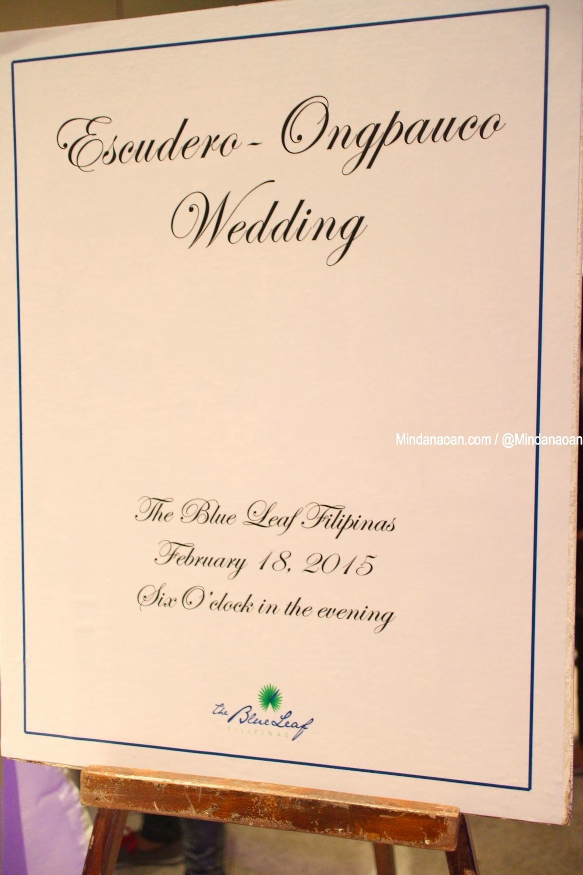 At the Senator Chiz Escudero – Heart Evangelista wedding