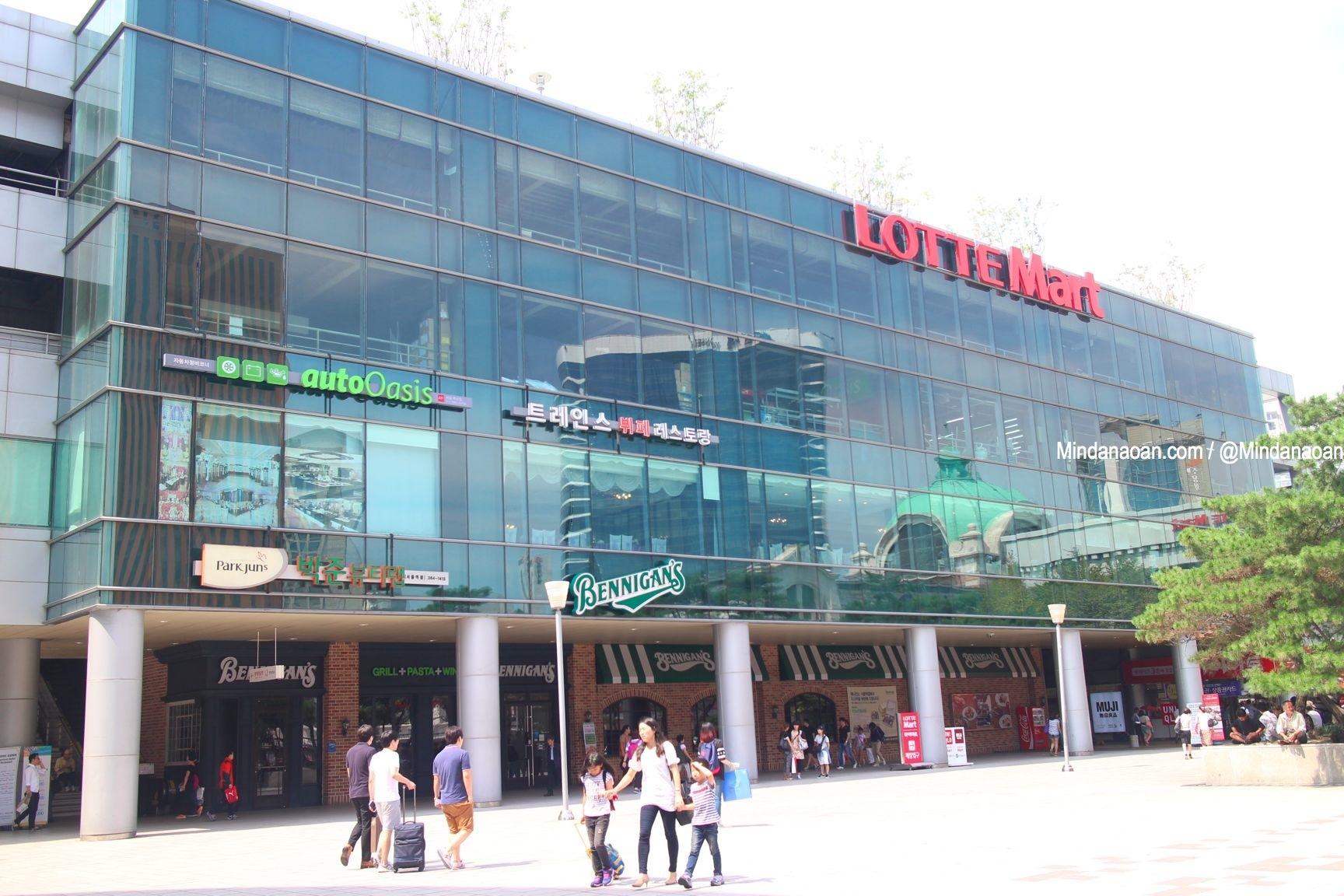 Mindanaoan In Korea Travel Series: Lotte Mart Seoul