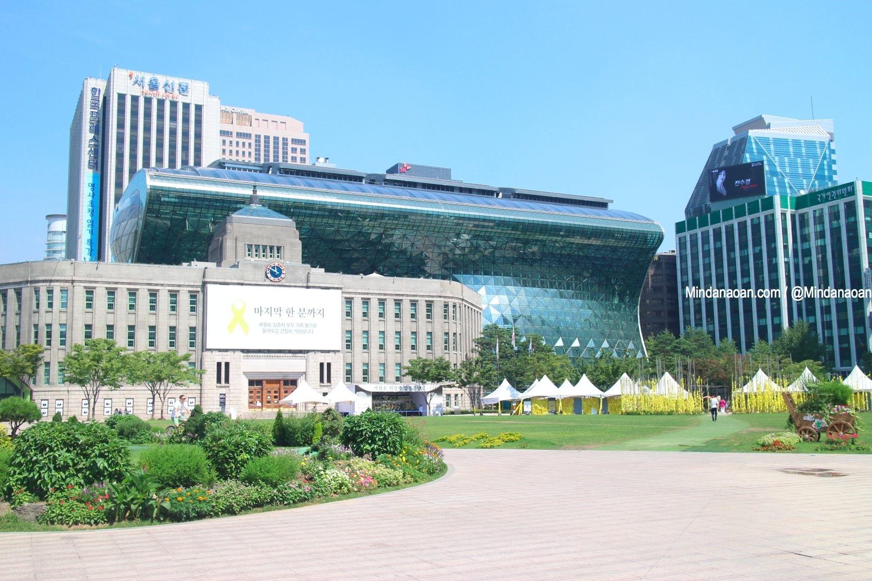 Mindanaoan In Korea Travel Series: Seoul City Hall