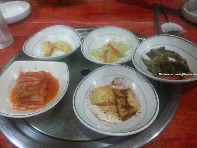Secret Garden for good Korean food in Cagayan de Oro