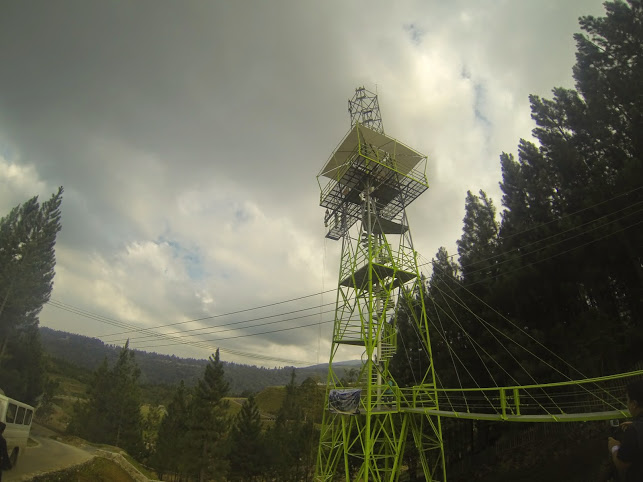 Finally jumped off the 8-storey Dahilayan Skyjump tower