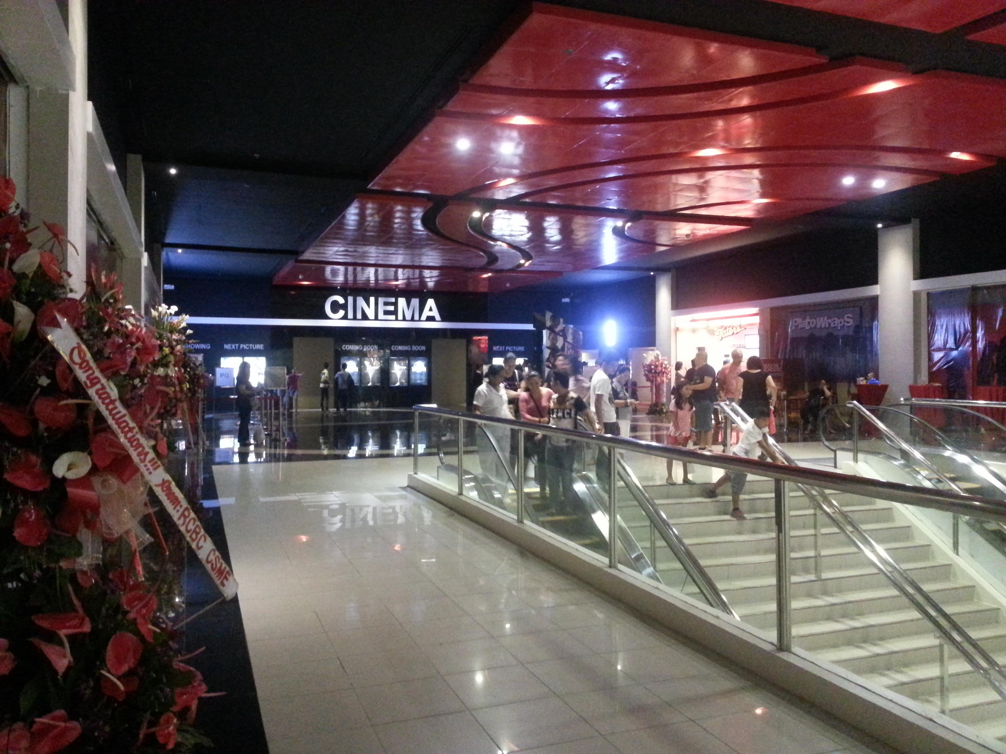 Inside the new Limketkai Cinemas CDO
