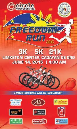 Join Freedom Run 2015 CDO
