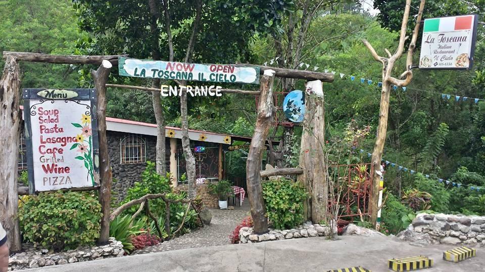 Here's an Italian restaurant amidst Bukidnon mountains
